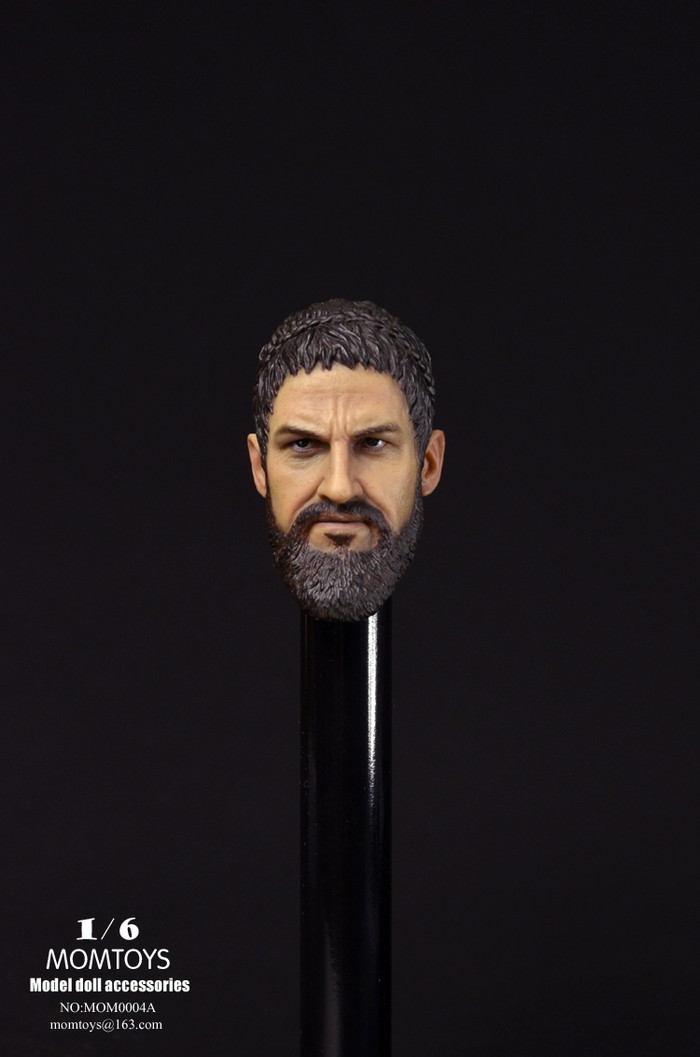 Mom Toys - Spartan Character Head Sculpt A
