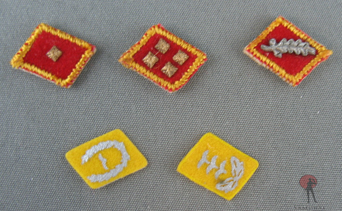 Other - Patch Set - German Collar Command Rank Bars