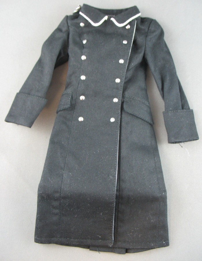 Other - Female - Trenchcoat - Black - Metal Buttons