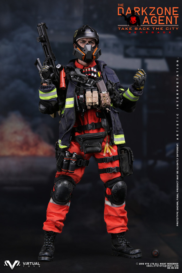 VTS Toys - The Darkzone Agent Renegade