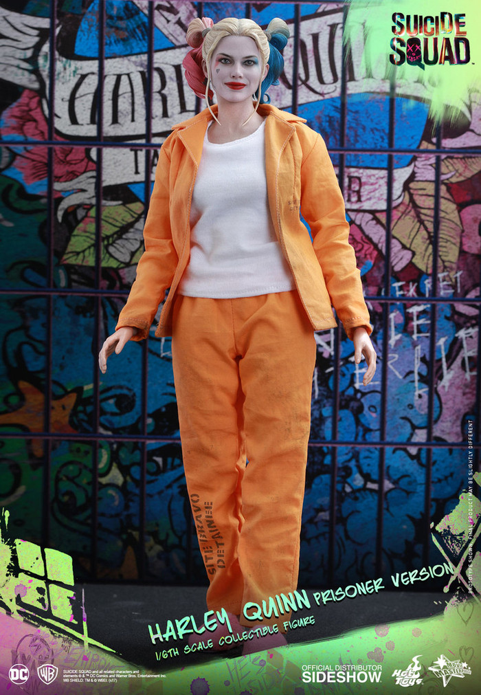 Hot Toys - Suicide Squad - Harley Quinn (Prisoner Version)