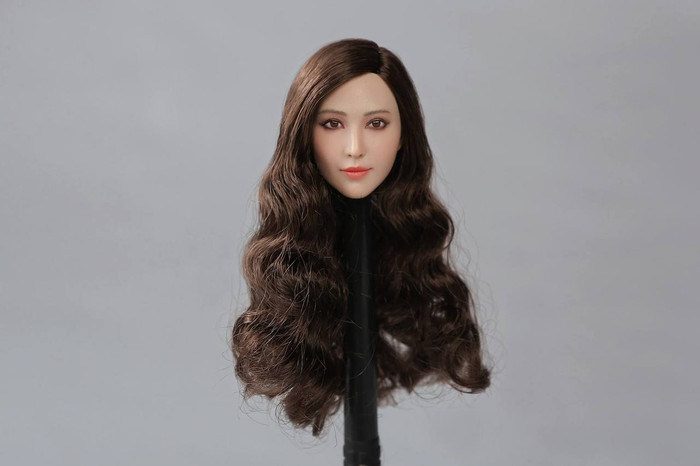 Peak Toys - PT-003 - Asian Beauty Star Female Head Sculpture