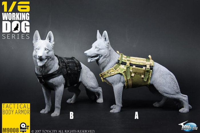 Toys City - Working Dog Series - Tactical Body Armor