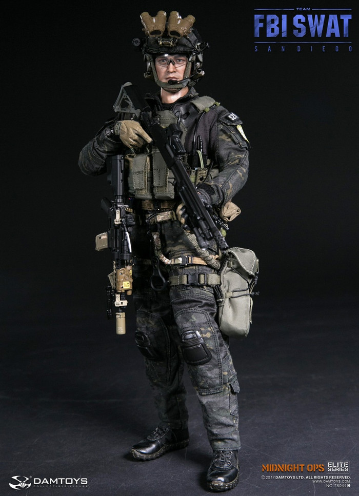 DAM Toys - FBI SWAT Team Agent - San Diego Midnight Ops