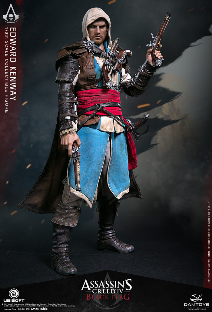 DAM Toys - Assassin's Creed: Black Flag Edward Kenway