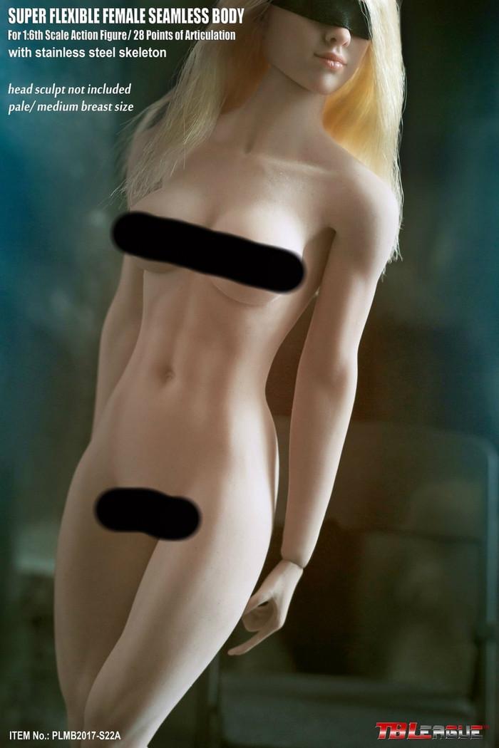 Phicen - Super Flexible Seamless Female Body - S22A