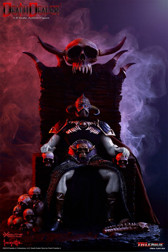 Phicen - Hell on Earth (Death Dealer 2nd. Version) - B - Deluxe Version