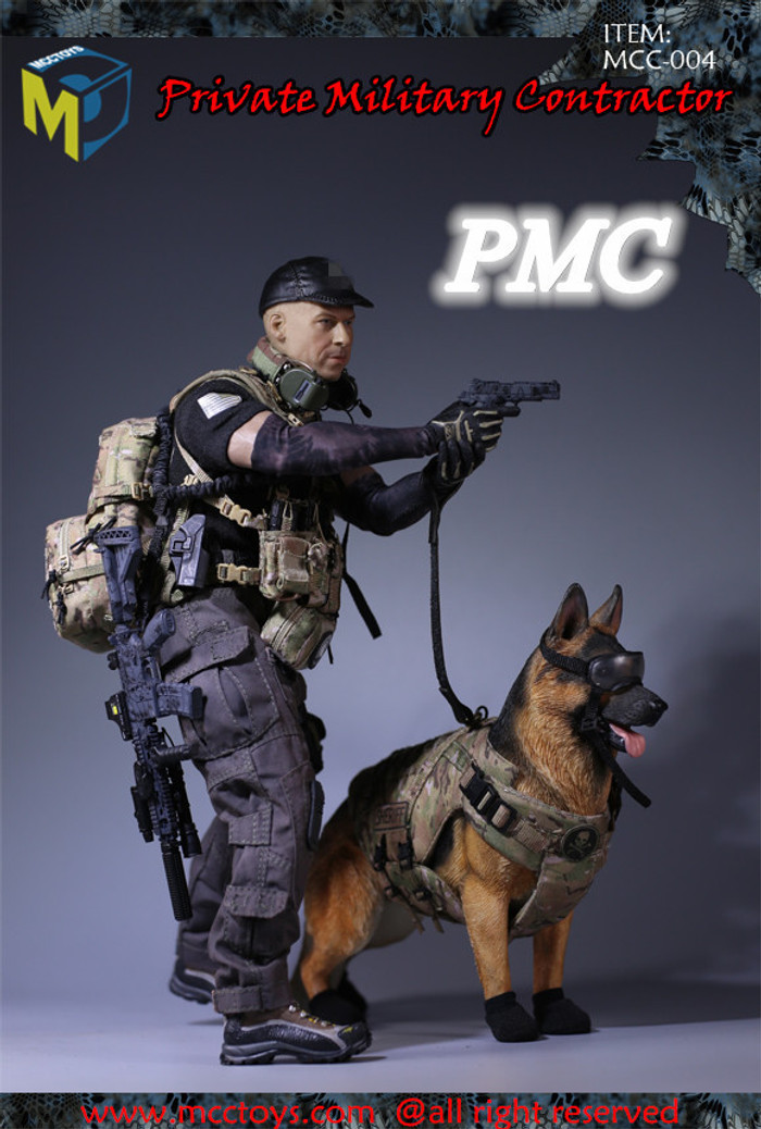 MCC Toys - Private Military Contractor - Accessory Set