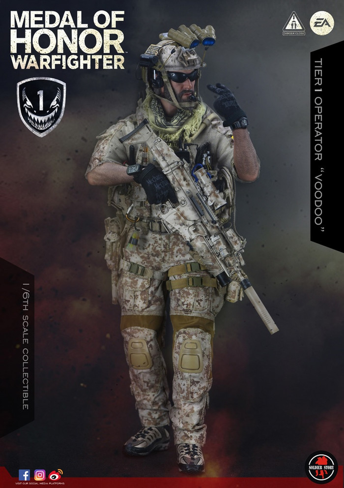 "Soldier Story - Medal of Honor: Navy Seal Tier One Operator ""Voodoo"""
