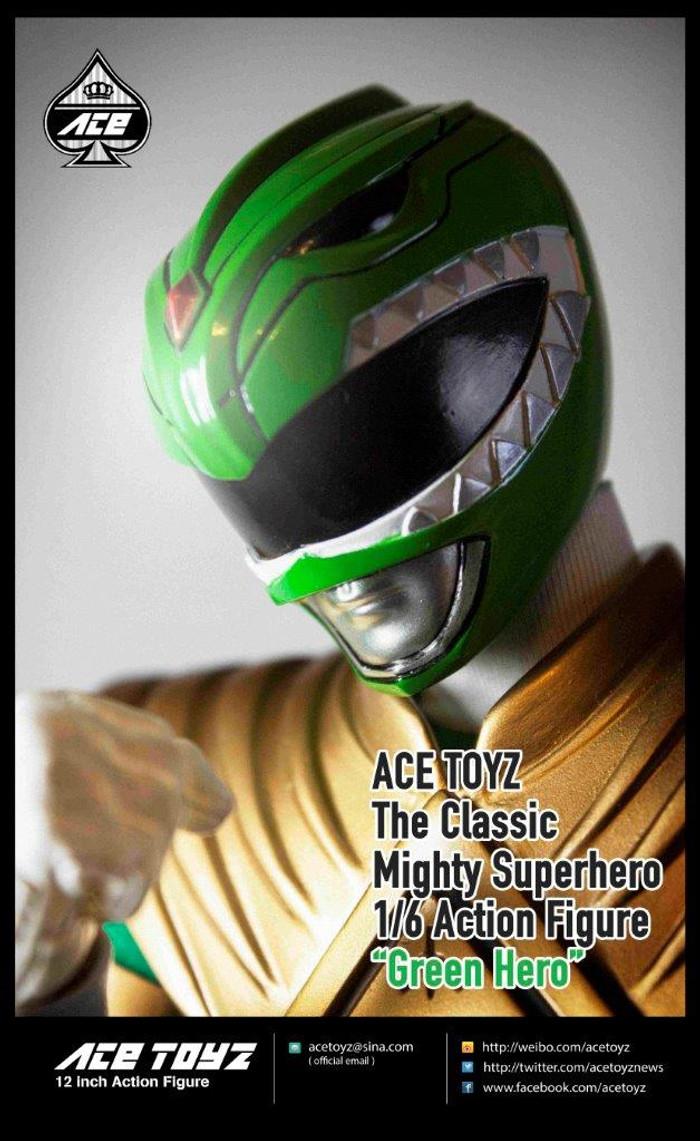 Ace Toyz - The Classic Mighty Super Hero: Green Hero