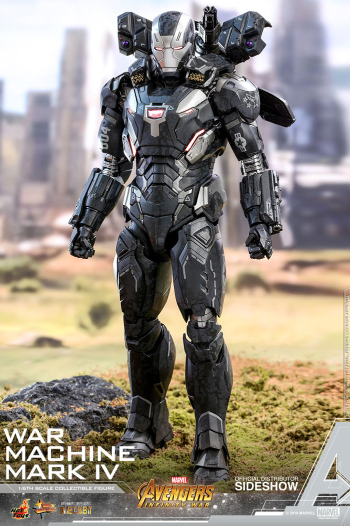 Hot Toys - Avengers: Infinity War - War Machine Mark IV Diecast