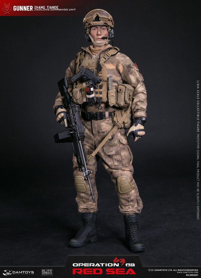 """DAM Toys - Operation Red Sea:  PLA Navy Marine Corps """"JIAO LONG"""" Special Operations Brigade Operation Saw"""