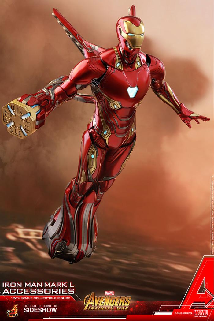Hot Toys - Avengers: Infinity War - Iron Man Mark L Accessory Set