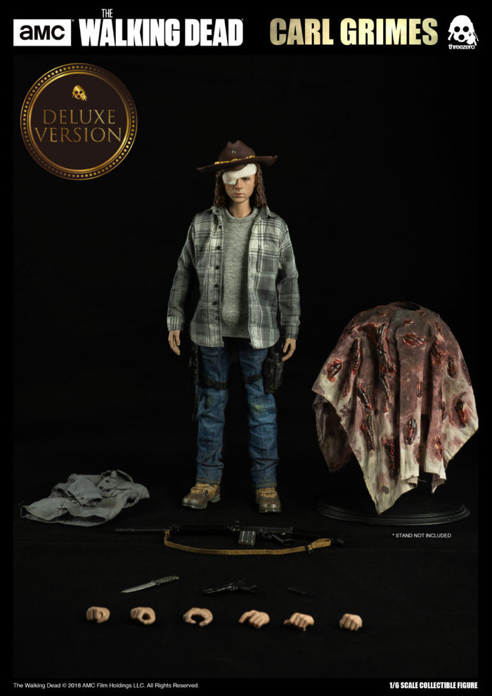 Threezero - The Walking Dead: Carl Grimes Deluxe Version