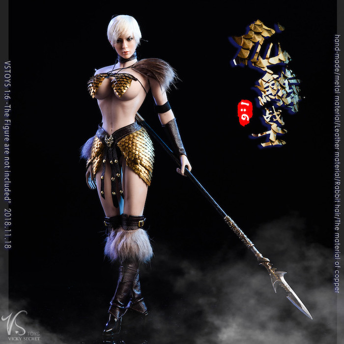 VS Toys - Dragon Female Warrior Armor B Edition