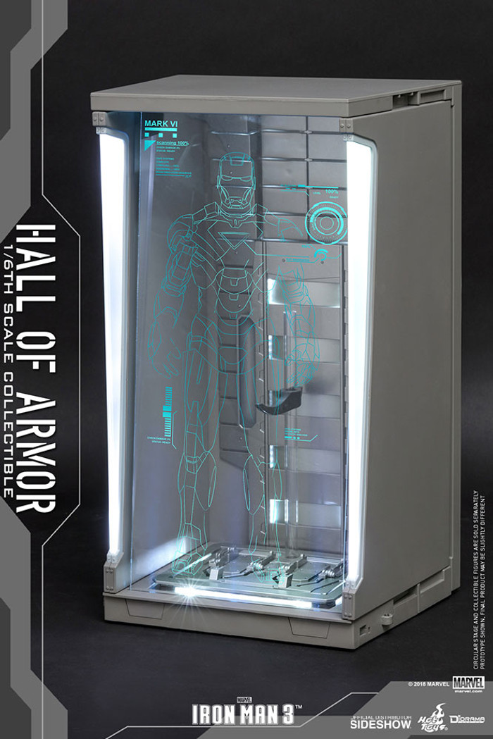 Hot Toys - Diorama Series - Iron Man 3: Hall of Armor Single