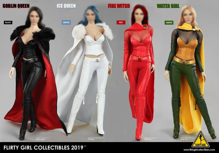 Flirty Girl - Cosplay Clothing Set Version 2.0