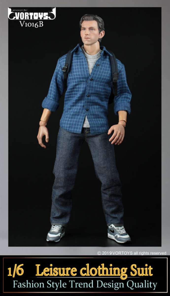 Vor Toys - Parker Field Trip Outfit - Denim Pants Version