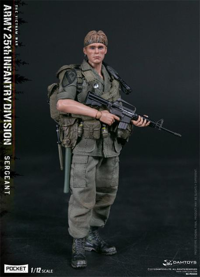 DAM Toys - 1/12 Pocket Elite Series: 25th Infantry Division Private Sergeant