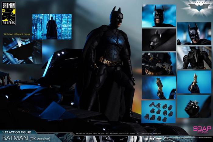 Soap Studio - 1/12 The Dark Knight: Batman - DX Edition