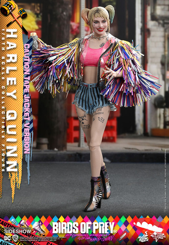 Hot Toys - Birds of Prey - Harley Quinn (Caution Tape Jacket Version)
