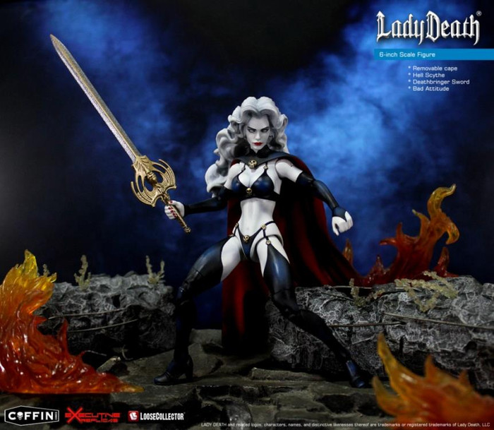 Executive Replicas - 1/12 Lady Death