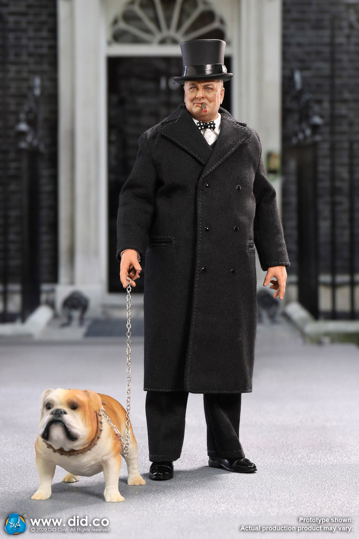 DID - 1/12 Palm Hero - Prime Minister of United Kingdom - Winston Churchill