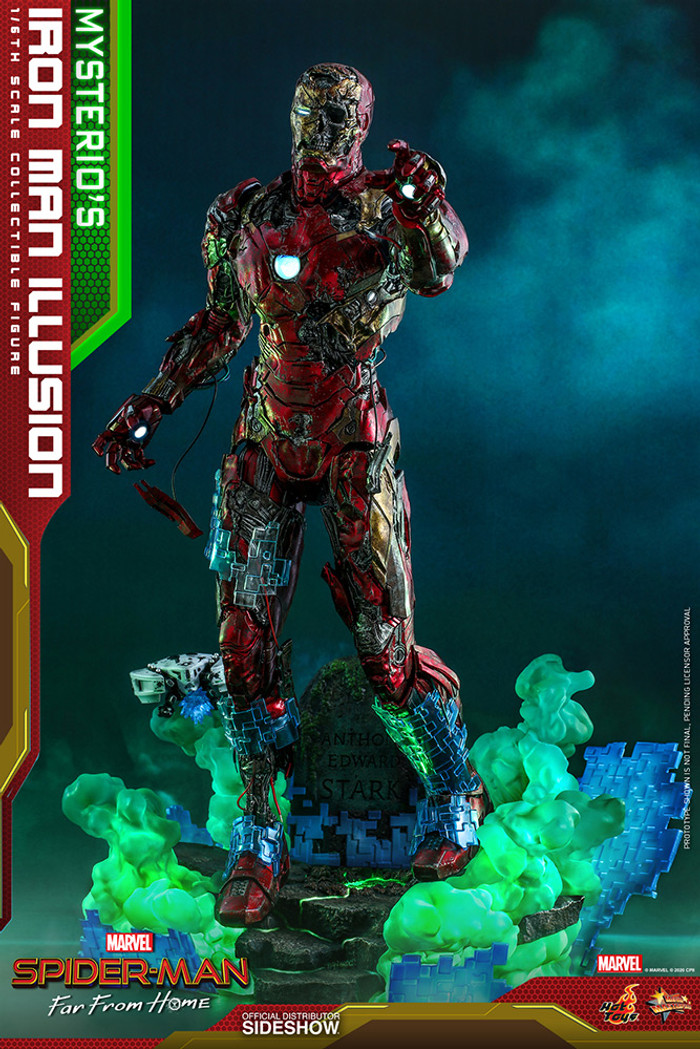 Hot Toys - Spider-Man Far From Home - Mysterio's Iron Man Illusion
