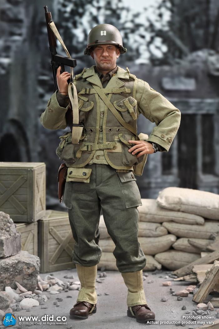 DID - WWII US 2nd Ranger Battalion Series 3 - Captain Miller