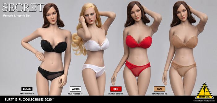 Flirty Girl - Female Strapless Bra and Panty Set