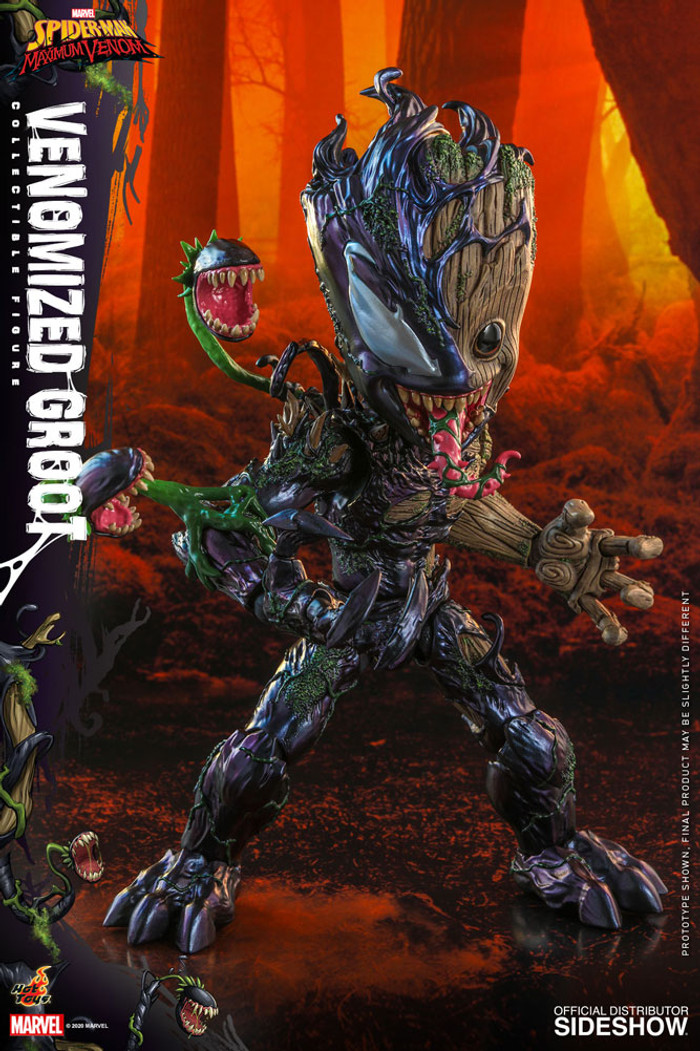 Hot Toys - Marvel's Spider-Man Maximum Venom - Venomized Groot