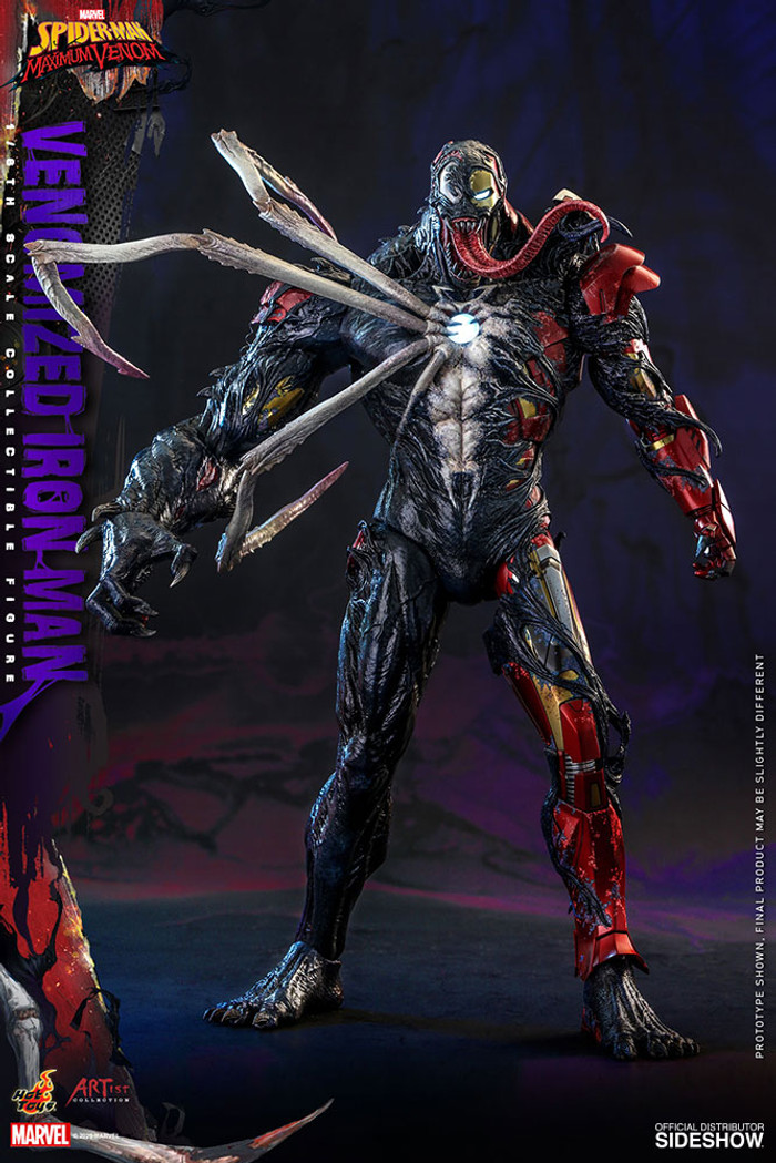 Hot Toys - Marvel's Spider-Man Maximum Venom - Venomized Iron Man