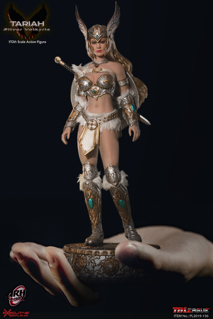 TBLeague - 1/12 Tariah Silver Valkyrie