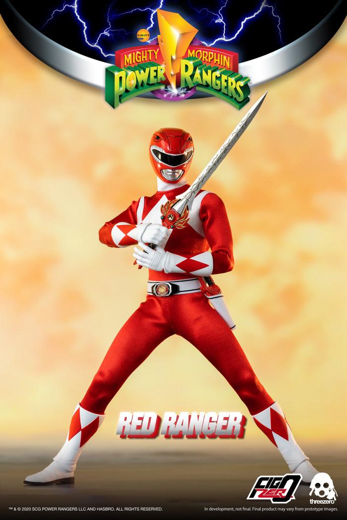 Threezero - Mighty Morphin Power Rangers - Red Ranger