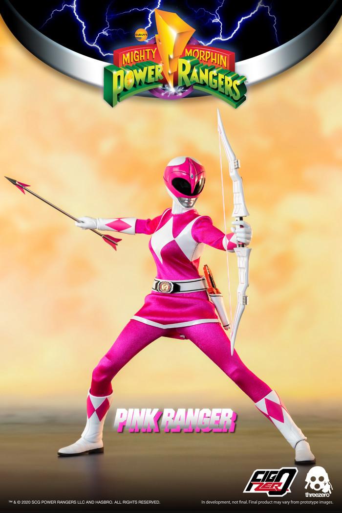 Threezero - Mighty Morphin Power Rangers - Pink Ranger