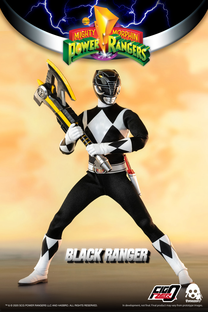 Threezero - Mighty Morphin Power Rangers - Black Ranger