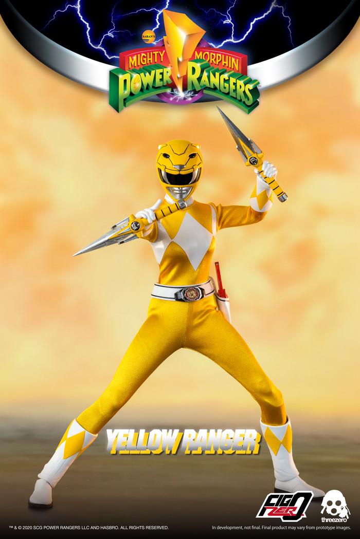Threezero - Mighty Morphin Power Rangers - Yellow Ranger