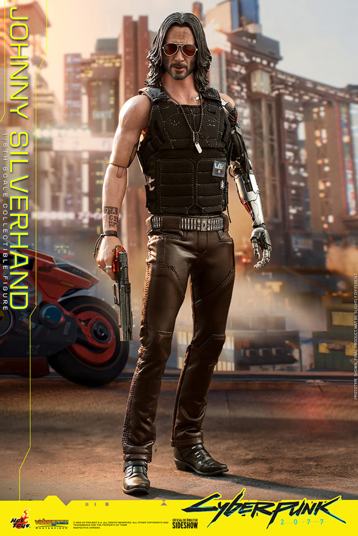 Hot Toys - Cyberpunk 2077 - Johnny Silverhand