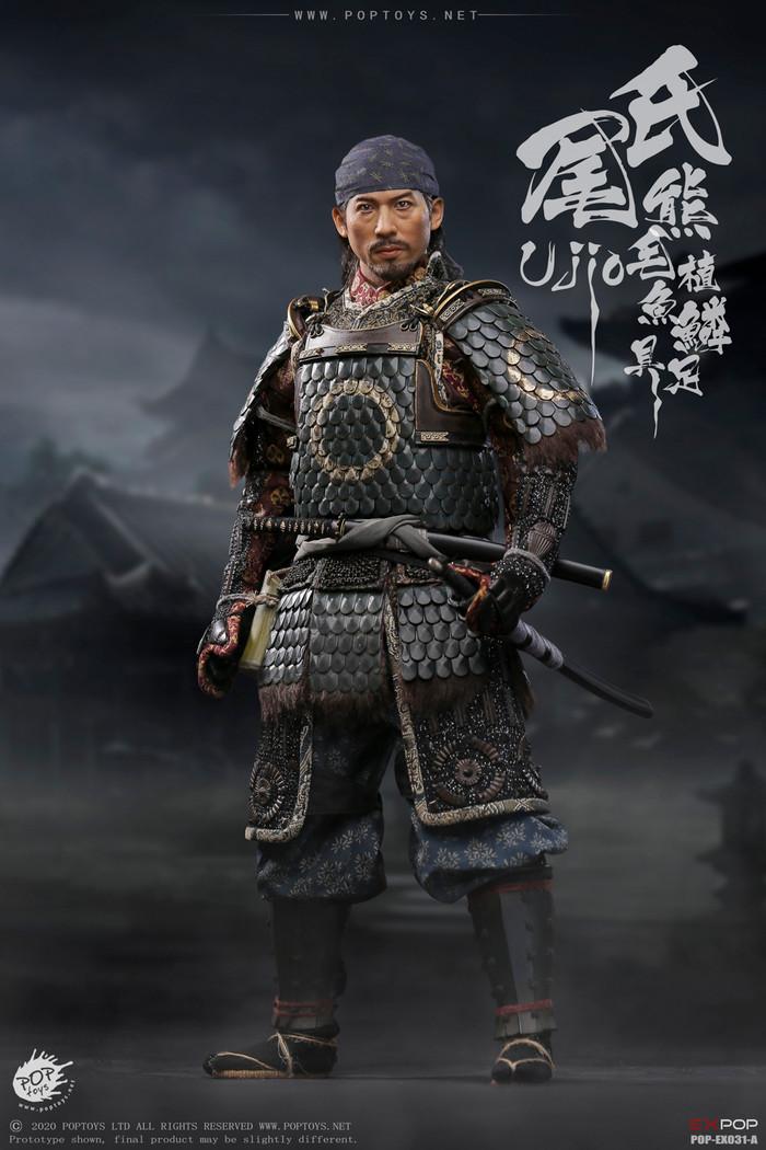 POP Toys - Brave Samurai UJIO Standard Edition