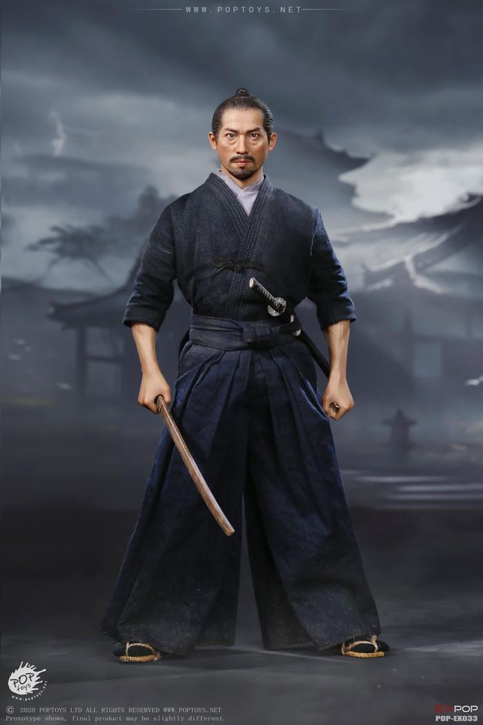 POP Toys - Brave Samurai UJIO Kendo version