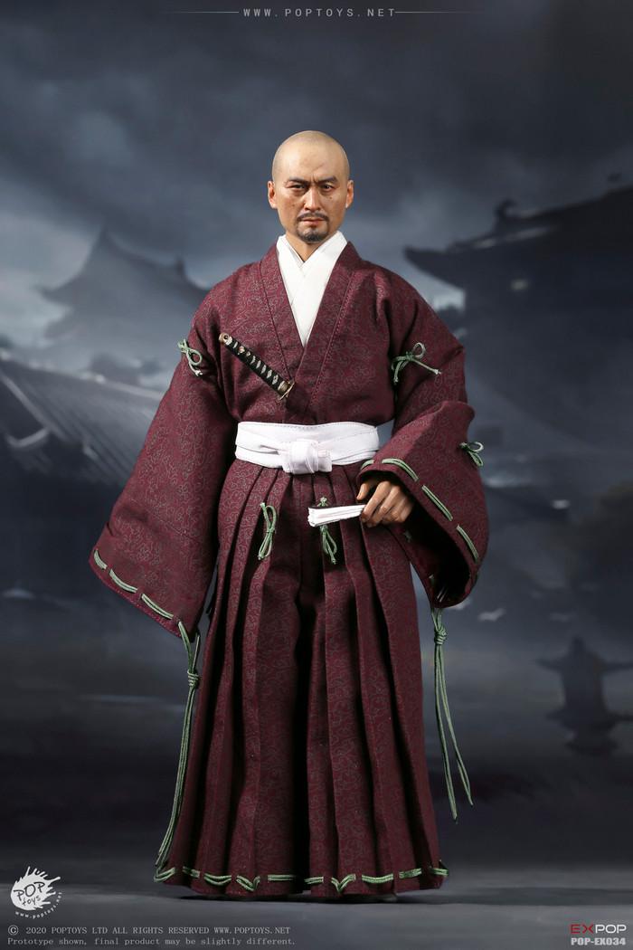 POP Toys - Benevolent Samurai Robes Version