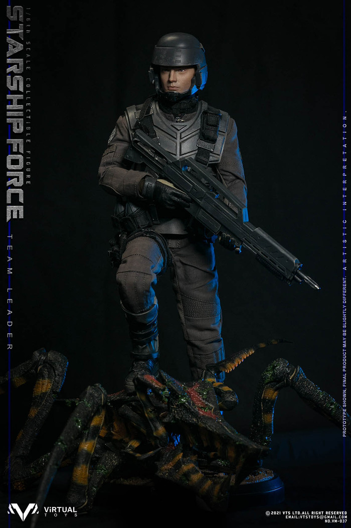 VTS Toys - Starship Force Team Leader