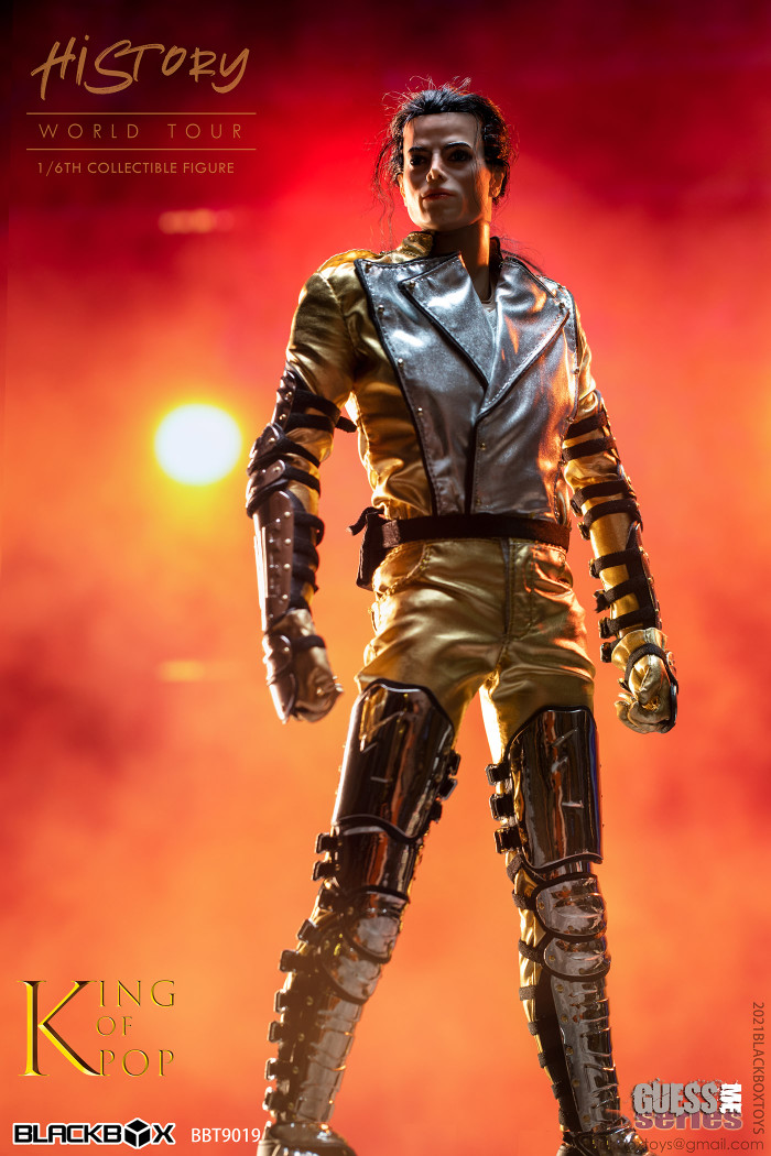 Black Box Toys - Guess Me Series:  Michael Jackson The History World Tour