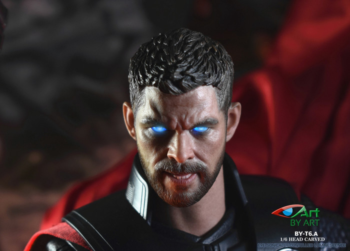 By-Art - Chris Male Headsculpt