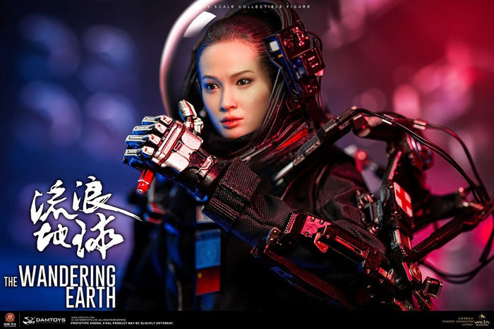 Dam Toys - The Wandering Earth: CN171-11 Rescue Unit Member Zhou Qian