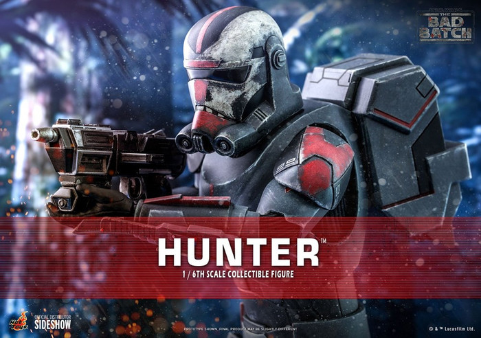 Hot Toys - Star Wars The Bad Batch - Hunter