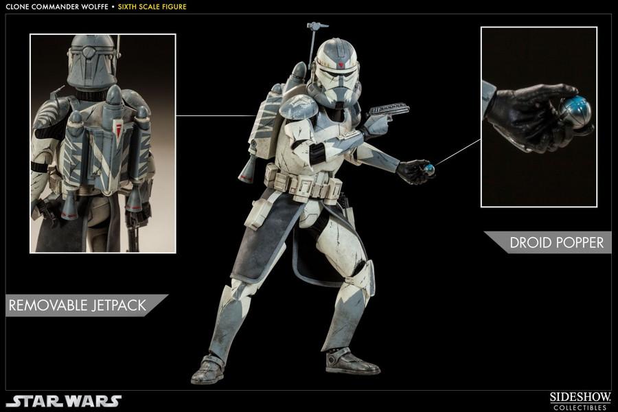 Sideshow - Star Wars - Clone Commander Wolffe