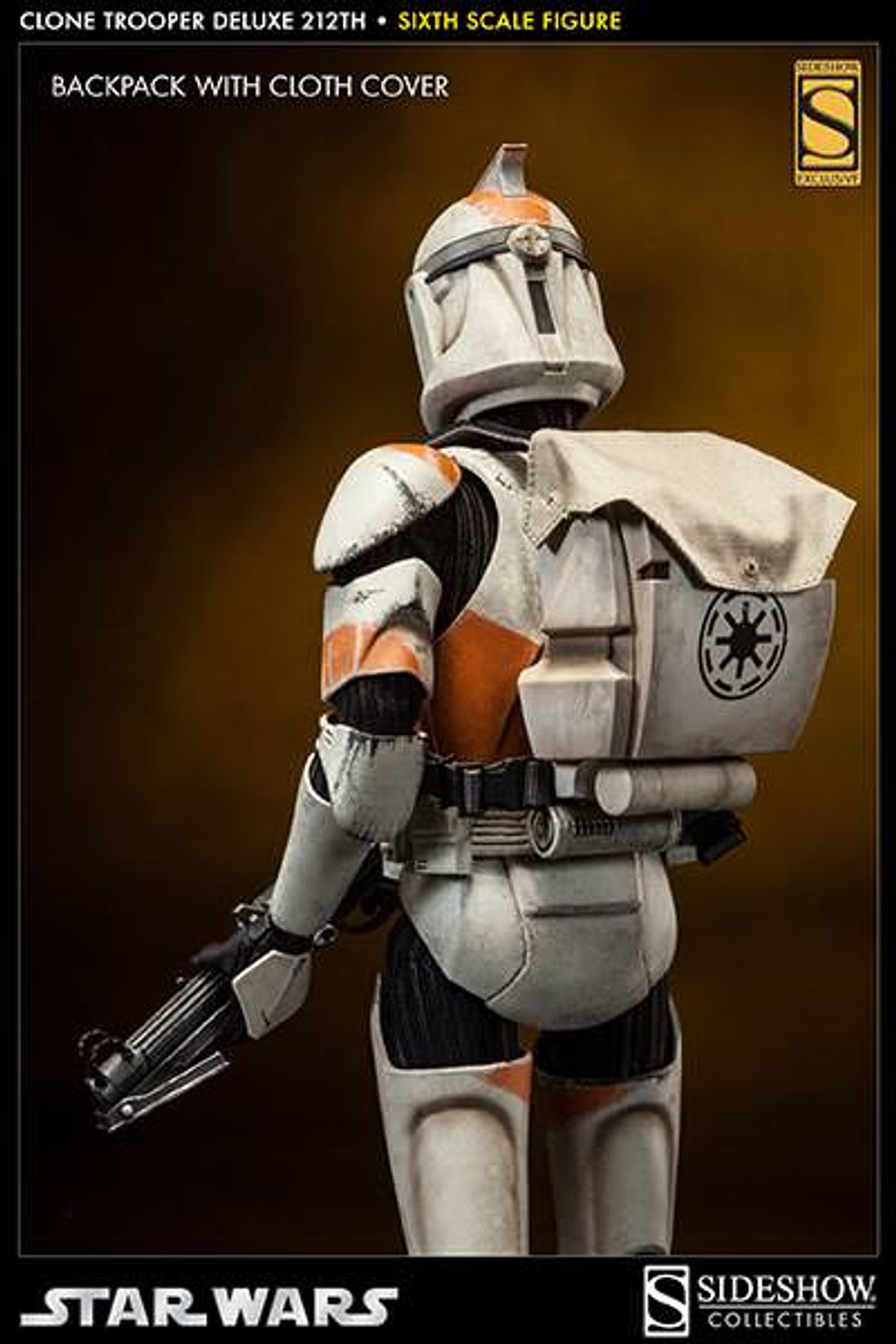sideshow  star wars  clone trooper deluxe 212th  urban