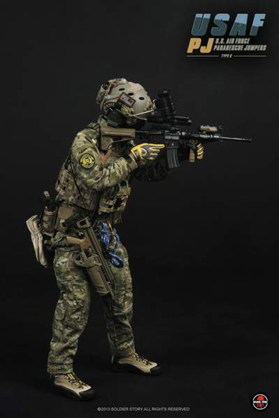 Soldier Story - USAF PJ Air Force Pararescue Jumpers Type C