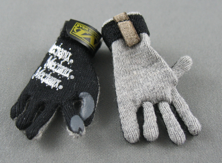 DAM - Mechanix Gloves - Black and Grey